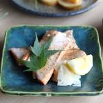 【魚】鮭のハラス焼き