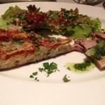41994414 - 魚コースの、前菜1品目。