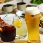 daikanyama  O'KOK - 生ビール、自家製サングリア赤・白(夏期限定)