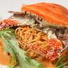 洋麺バルPastaBA - 料理写真:どどんと一匹!わたりガニのトマトクリーム
