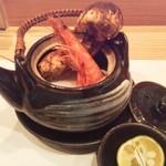 すし処 大 - 松茸の土瓶蒸し