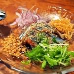 悠 - 秋刀魚の中華風カルパッチョ
