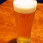 悠 - 生ビール