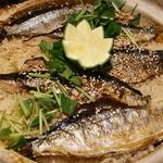 遊食彩旬 乃'SAN - 秋刀魚の炊き込みご飯