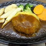 みつけ亭 - チーズハンバーグ
