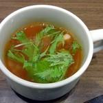 みつけ亭 - セットのスープ