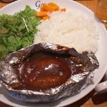 Wine Dining グジェール - 木曜ランチ(ハンバーグホイル焼) (10)