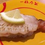スシロー - 炙り赤エビ塩レモン  100円