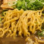 41998883 - 中太ちぢれ麺!!(*ノωノ)