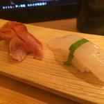 やまひこ鮨 - 赤貝と矢柄