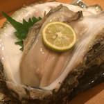やまひこ鮨 - 岩牡蠣