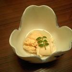京料理 八平 - 鯛の子と白子
