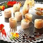 四季旬彩 やまと - オリジナル生春巻き!中華とフレンチを融合した珍しい逸品!