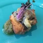 イル・クアドリフォーリオ - ☆イサキのロースト…サルデッラを添えて…焼き茄子のカラブリア料理☆