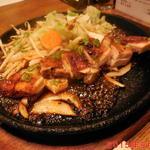 オフロード - 鶏のもも肉ステーキアップ