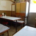 青鳳 - テーブル席2
