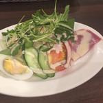 星乃珈琲店 - サラダ