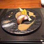 神楽坂 鉄板焼 中むら - 焼き野菜