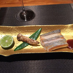 神楽坂 鉄板焼 中むら - 太刀魚