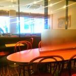 カフェ サンレモ - 喫煙席