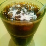 カフェ サンレモ - アイスコーヒー(アップ)