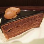 エクセルシオールカフェ - ガトーショコラ 460円