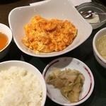 42007265 - 麺菜家北斗青山店(海老と卵のチリソース炒め)