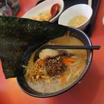 手打ちラーメン珍來 - 料理写真:限定のニンニク味のアレ(どれ)