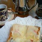 4201542 - ハムチーズトースト&ブレンド