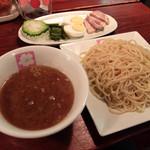 Tsukemensakura - 201509 つけめん大盛り(800円)