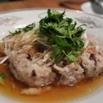 Kantonryourifu - 咸魚蒸肉餅(塩漬け魚入り香港式ハンバーグ)
