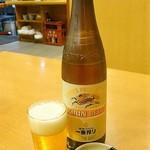 うなぎや - 麒麟瓶ビール