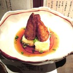 福まんま - 揚げだし豆腐(上に載っているのはさつま揚げ)
