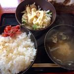 Hidaizakayakurasuke - 朴葉みそ焼き定食(飛騨牛)