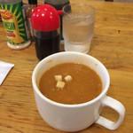 Dove - スープ、、というよりカレーです
