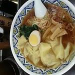 中国ラーメン揚州商人 - ワンタン麺 860円