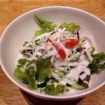 ハーレーパーク - サラダ