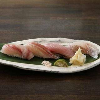 新鮮な海の幸+こだわりの職人=握り寿司!!