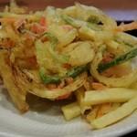 モテナス - 地元野菜のかき揚げ