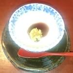季のかおり - デザート     パンナコッタ      和風に黒蜜がかけてありこれもとてもおいしかったです。
