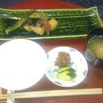 季のかおり - 焼き物    白飯   お味噌汁