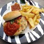 42023065 - Chilli Crab Burger/SGD18.9