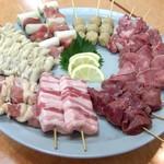 一心水産 - 串焼き各種 お好みでお選びください!