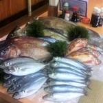 一心水産 - クエ・カツオ・タイ・アジ・イワシ・シマアジ・・・ おいしい魚、揃ってます!