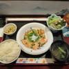 お食事処 ひろ - 料理写真:炙りサーモン刺おろしぽんず定食