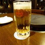 ビーチサイド - ドリンク写真:オリオン生ビール