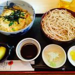 そば処 たぐり庵 - あさり丼と蕎麦ランチ950円