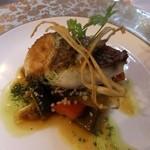 RISTORANTE REGA - 真鯛のソティ