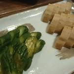 MISO18ヶ月 - きゅうり&長いもの味噌漬け