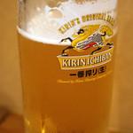 やさい畑 家庭料理 - ドリンク写真:生ビール
